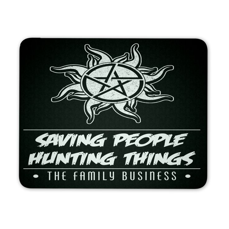 Saving People Hunting Things - Mousepad