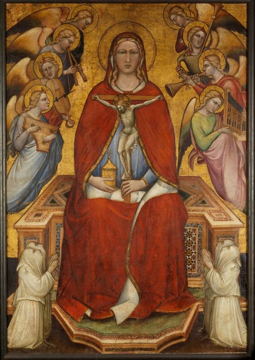 Спинелло Аретино. Мария Магдалина. Хоругвь. ок. 1395—1400, Нью-Йорк, Метрополитен-музей.