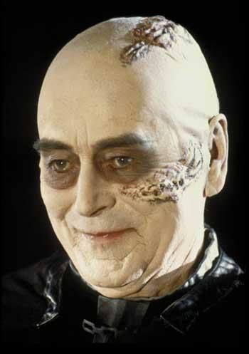 Sebastian Shaw, as unmasked Darth Vader from Star Wars, Return Of The Jedi.