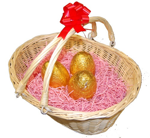 8 best gift ideas images on pinterest gift tags gift wrapping easter gift hamper egg basket wood wool or coloured shredded paper filling available now on negle Images