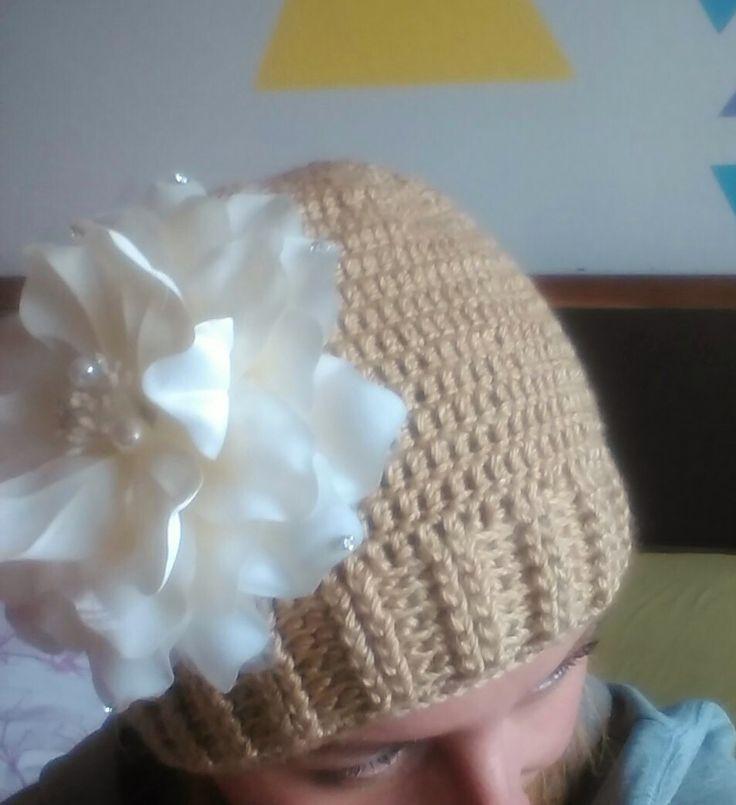 crochet hats- flowers