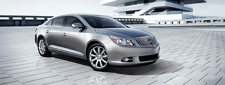 2012 Buick Lacrosse -- Only mine will be white diamond color with satin finish!