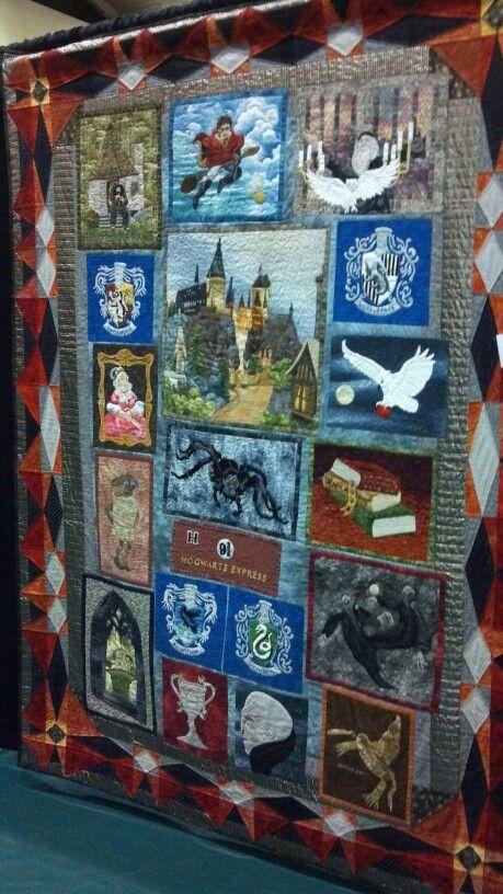 Fabulous Harry Potter inspired quilt