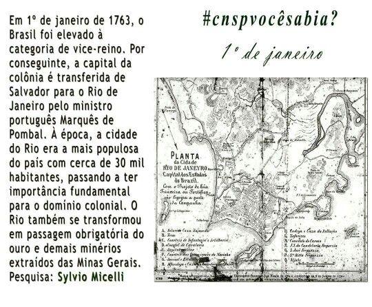 #cnspvocêsabia? #cnsp #1dejaneiro  #funcionalismo #Brasil #Salvador #riodejaneiro #marquêsdepombal #história #cultura #1763
