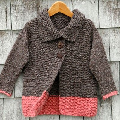 Knitted Childrens Sweaters Free Patterns : 154 best images about Toddler free hoodie knitting patterns on Pinterest
