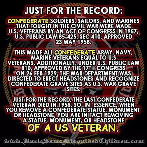Busting the myth that Congress made Confederate vets into U.S. vets