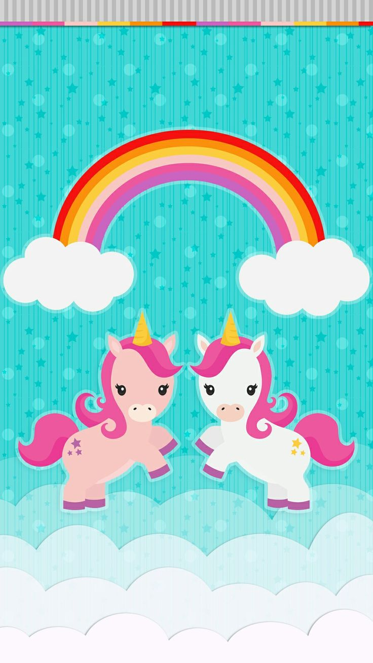 unicorn rainbow wallpaper iphone android Rainbow