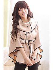 Women's Ruffle Asym Hem Outwear – USD $ 24.59