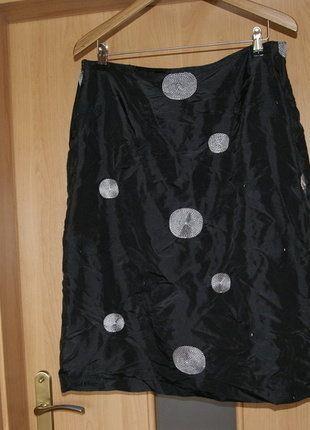 Kup mój przedmiot na #vintedpl http://www.vinted.pl/damska-odziez/spodnice/15654878-spodnica-czarna-kolka-czarno-biale-r-4416