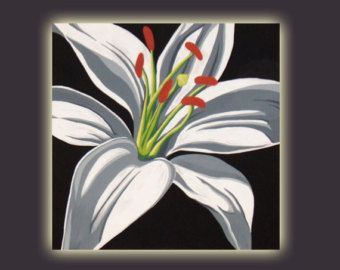 acrylic paintings with grey background - Google Search