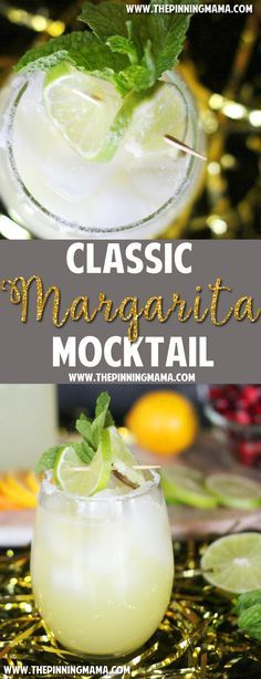 A non-alcoholic Margarita recipe GENIUS! I need to serve this at my next party so there is something for everyone! It is crazy delicious too!