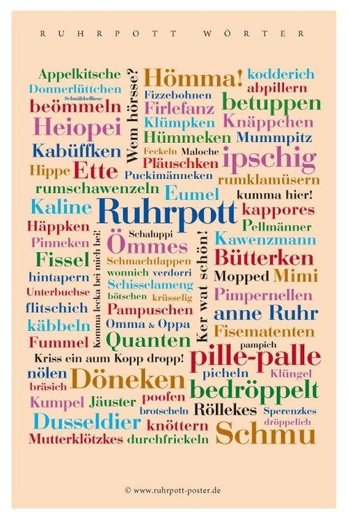 ruhrpott-poster ... sooo schön ... hätte ich gerne für die Diele ;o)
