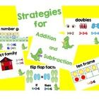 high end sunglasses Addition and Subtraction Strategies Posters