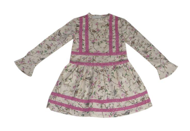 Vestido Talle Bajo Colección Gruyere, Otoño/Invierno 2015/2016