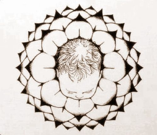 Using the Spiritual Midwifery Logo to Visualize Crowning