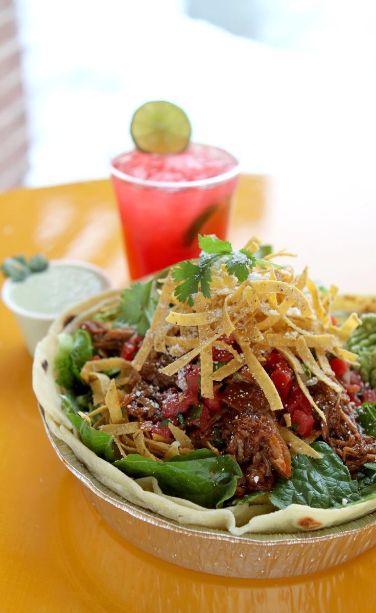 Cafe Rio Sweet Pork Barbacoa Salad Calories