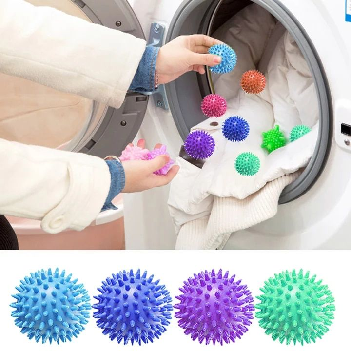 Soft Swift Dryer Balls Laundry Washing Ball Fabric Softener Ball Dryer Fabric Softener