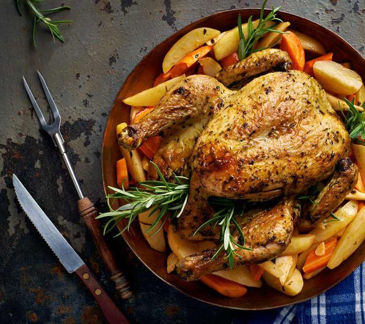 Pieczony Kurczak Chermoula Z Warzywami Przepis Recipe Food Main Course Yummy