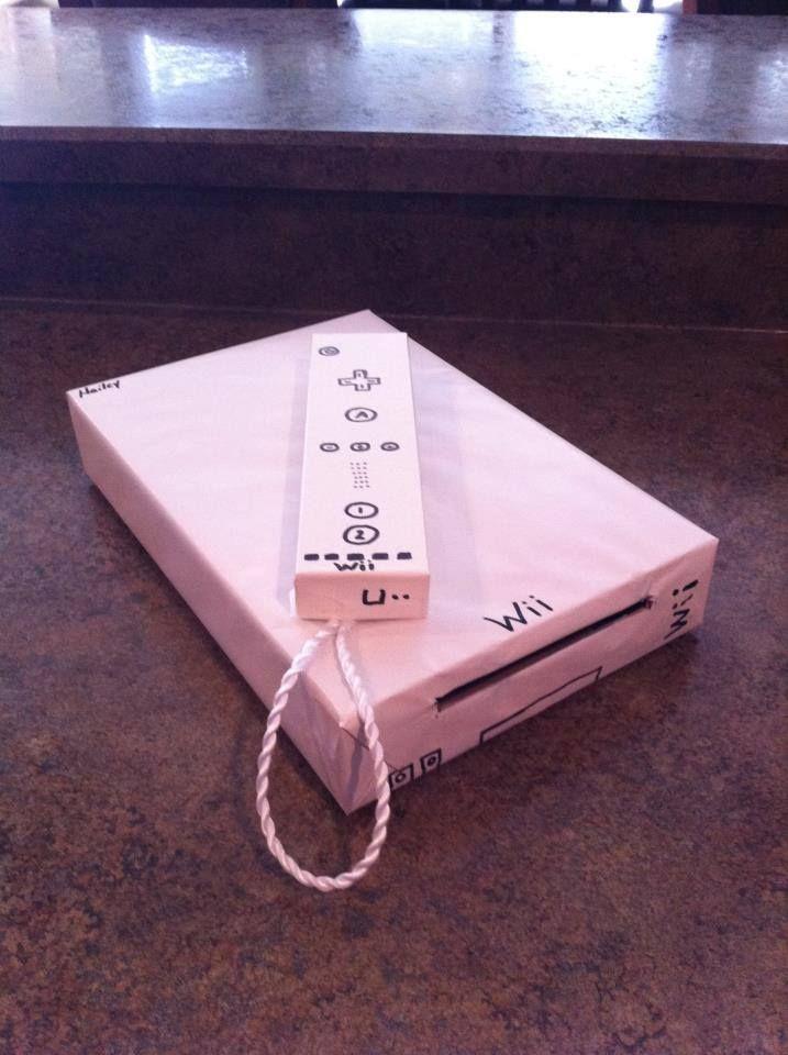 Wii valentine box
