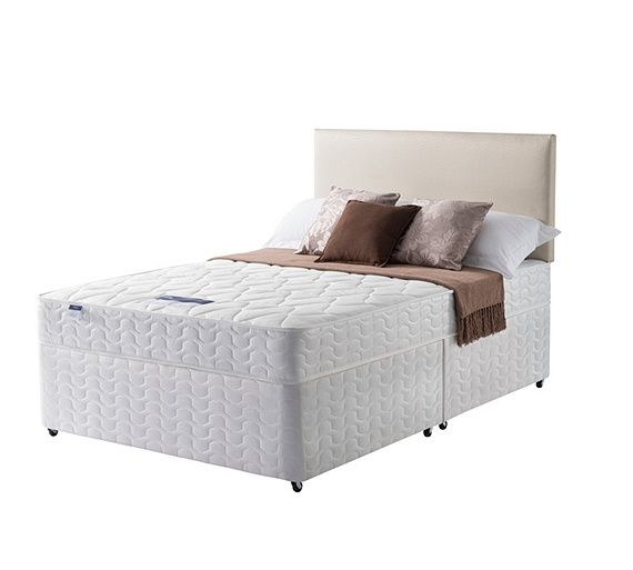 Buy Silentnight Travis Miracoil Small Double Divan Bed at Argos.co.uk, visit Argos.co.uk to shop online for Divan beds, Beds, Home and garden
