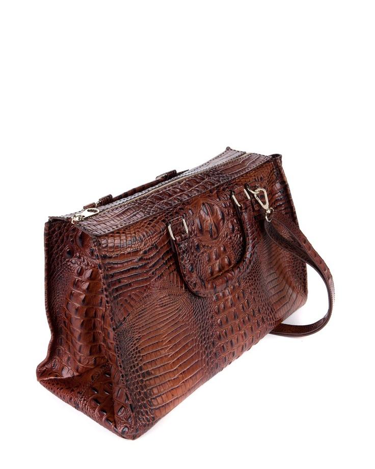 CROCANI - Large leather bag
