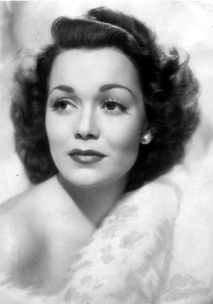 Jane Wyman (1917-2007) born Sarah Jane Mayfield in Missouri. Married to President Ronald Reagan from 1940-1948, 3 children