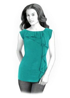 4194 PDF Sewing Pattern for Blouse Personalized for by TipTopFit, $2.49