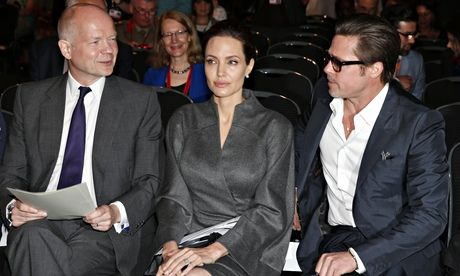 Angelina Jolie and William Hague – how odd political couples can work   Barbara Ellen
