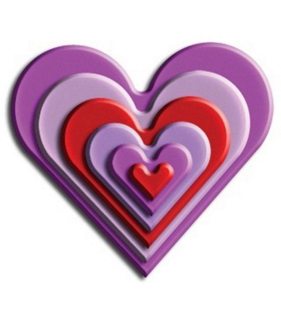 Wizard Nestabilities Die Set-Classic Heart (6 Dies) at Joann.com