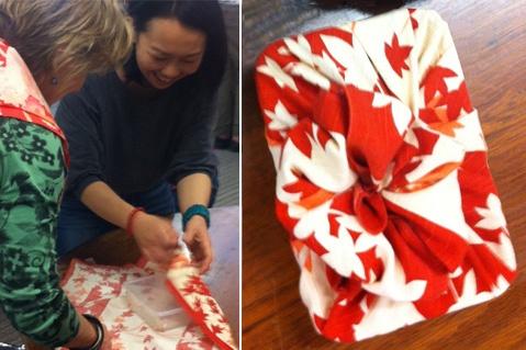 Furoshiki: Fabric Workshop