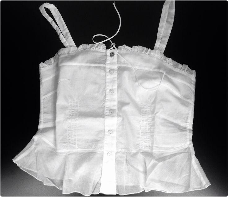 #Almeria #lightcotton #white #tank. The #madeinitaly #fashion. www.lanamoda.it