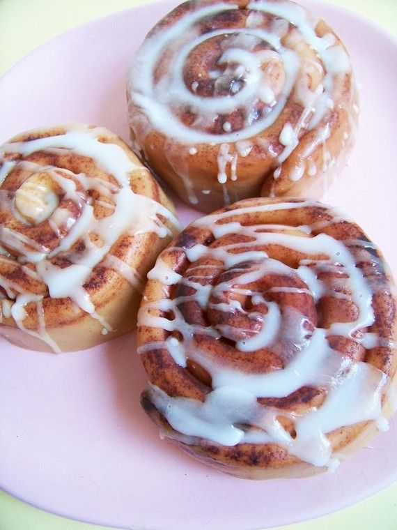 THIS IS SOAP :) Cinnamon Roll Soap by LoveLeeSoaps on Etsy, $8.00