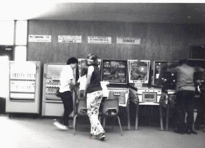 Throwback to the 70's Bell Bottoms and Pinball. At Rivercrest Cottage
