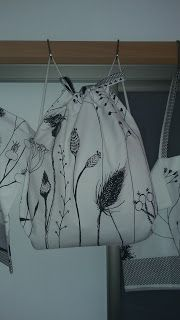 dada : Batoh Ikea kvety