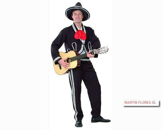 Disfraz de mariachi. Más en www.martinfloressl.es