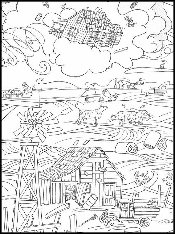 The Wizard Of Oz 1 Printable Coloring Pages For Kids Wizard Of Oz Color Coloring Pages Kids Coloring Books
