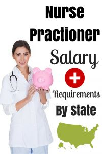 Nurse Practitioner Salary + Requirements By State - A MUST read for anyone thinking about becoming an NP