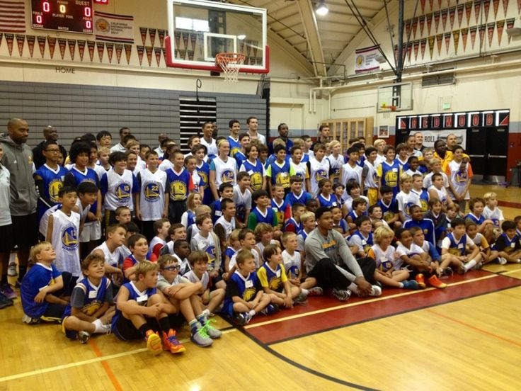 On July 29, the kids at the Warriors Basketball Camp in San Francisco were treated to a special visit from Warriors guard and recent NBA Summer League Champion Kent Bazemore.