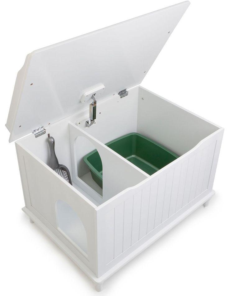 Hidden Litter Boxes