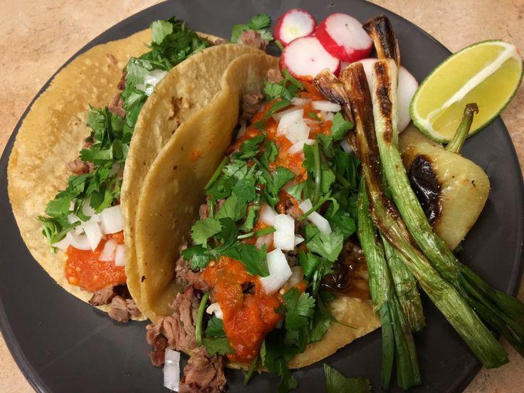 [Homemade] Tacos De Asada. http://ift.tt/2iQYyNL