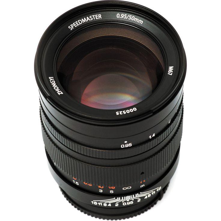 Mitakon 50mm f/0.95 Lens Sony E-mount (FE)