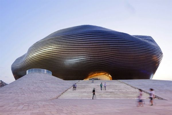 Ordos Museum in China