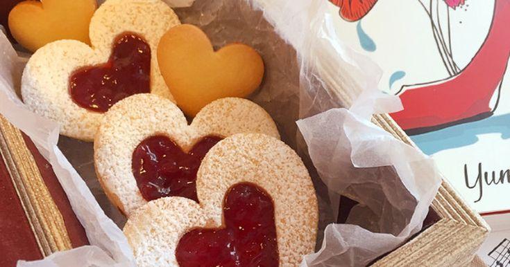 簡単型抜き♡サクサクジャムサンドクッキー by sc0c0 [クックパッド] 簡単おいしいみんなのレシピが259万品