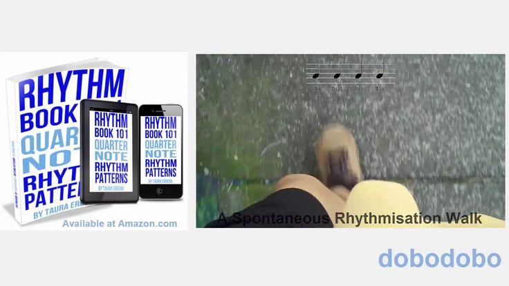 Music Rhythm Book 101 Quarter Note Rhythm Patterns For Non-rhythmic Musi...