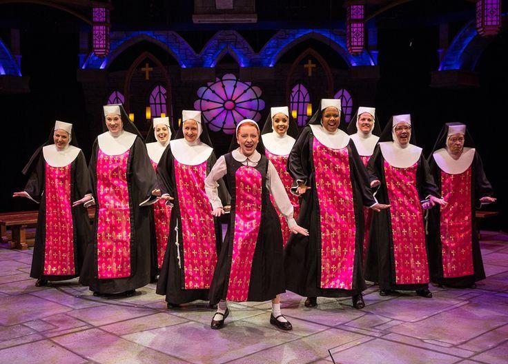 "Marriott Theatre presents ""Sister Act"" by Alan Menken and Glen Slater, directed by Don Stephenson. (photo credit: Liz Lauren)"