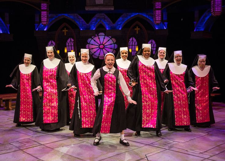 "Marriott Theatre presents ""Sister Act"" by Alan Menken and Glen Slater, directed by Don Stephenson. (photo credit: Liz Lauren)"