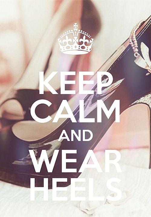 weeeeeear heels c: