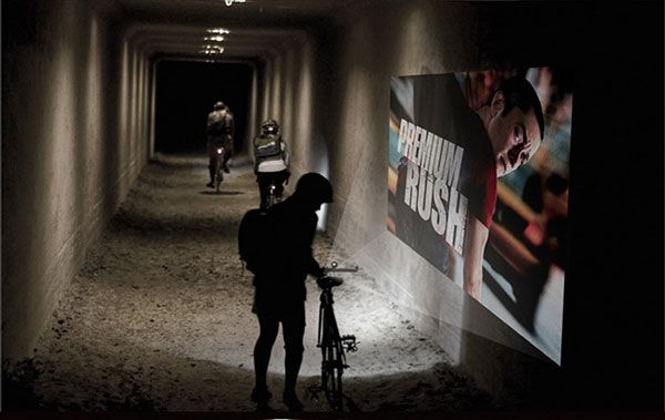 &B-bike-beam-projector-video