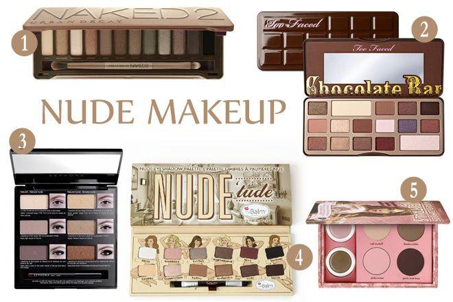 Nude Makeup Palettes