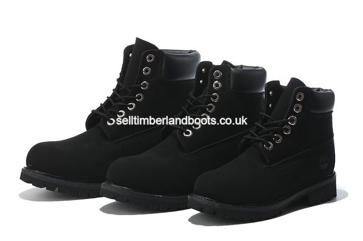 2017 New Women's Timberland 6 Inch Boots All Black Outlet UK £72.00